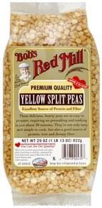 Bobs Red Mill Split Peas Yellow