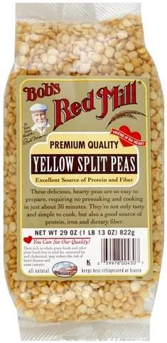Bobs Red Mill Yellow Split Peas - 29 oz