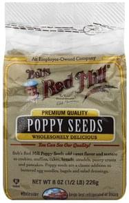 Bobs Red Mill Poppy Seeds