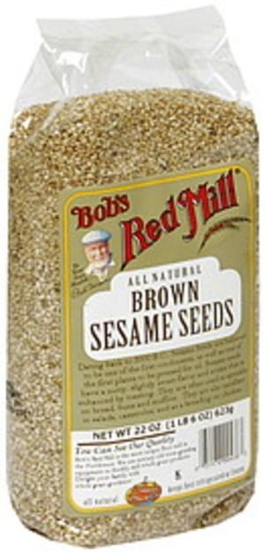 Bobs Red Mill Brown Sesame Seeds - 22 oz
