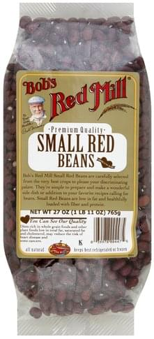 Bobs Red Mill Small Red Beans - 27 oz