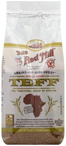 Bobs Red Mill Whole Grain Teff - 24 oz