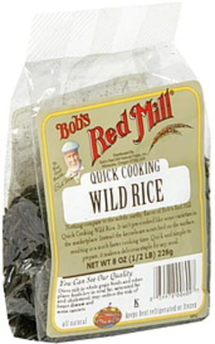 Bobs Red Mill Quick Cooking Wild Rice - 8 oz