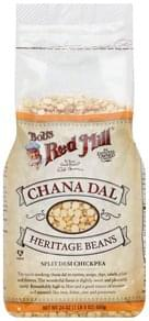Bobs Red Mill Chana Dal Heritage Beans