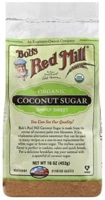 Bobs Red Mill Coconut Sugar Organic