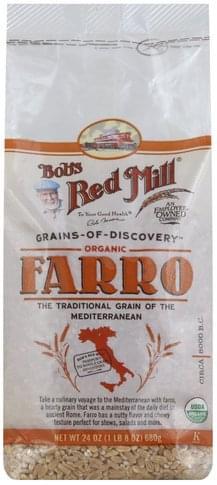 Bobs Red Mill Organic Farro - 24 oz