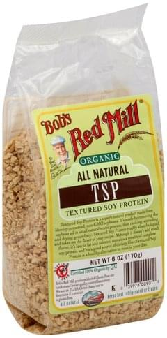 Bobs Red Mill Textured Soy Protein - 6 oz