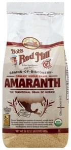 Bobs Red Mill Amaranth Organic Whole Grain