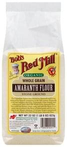 Bobs Red Mill Amaranth Flour Whole Grain, Stone Ground