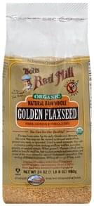 Bobs Red Mill Flaxseed Golden, Natural Raw Whole