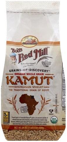 Bobs Red Mill Organic Whole Grain Kamut - 24 oz