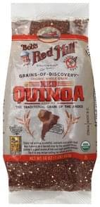 Bobs Red Mill Quinoa Red, Organic Whole Grain