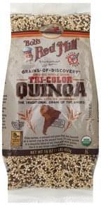 Bobs Red Mill Quinoa Tri-Color, Organic Whole Grain