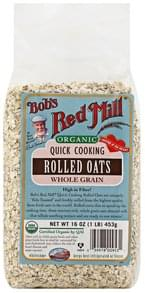 Bobs Red Mill Rolled Oats Organic, Quick Cooking
