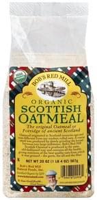 Bobs Red Mill Oatmeal Organic, Scottish