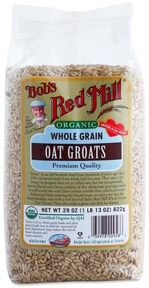 Bob's Red Mill Organic Whole Grain Oat Groats - 29 oz