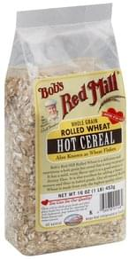 Bobs Red Mill Hot Cereal Rolled Wheat