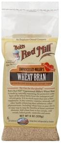 Bobs Red Mill Wheat Bran Unprocessed Miller's