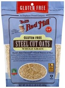 Bobs Red Mill Steel Cut Oats Whole Grain