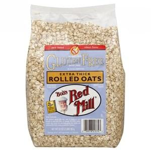 Bobs Red Mill Rolled Oats Extra Thick