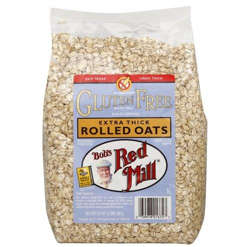 Bobs Red Mill Extra Thick Rolled Oats - 32 oz
