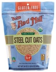 Bob's Red Mill Organic Gluten-Free Steel Cut Oats