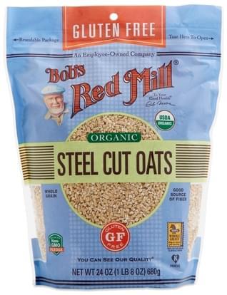 Bob's Red Mill Organic Gluten-Free Steel Cut Oats - 24 oz