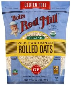Bobs Red Mill Rolled Oats Old Fashioned, Organic