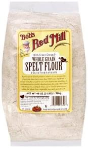 Bobs Red Mill Spelt Flour Whole Grain