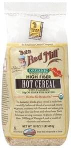 Bobs Red Mill Cereal Hot, Whole Grain High Fiber, Organic