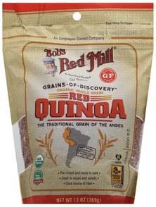 Bobs Red Mill Quinoa Red, Organic, Whole Grain