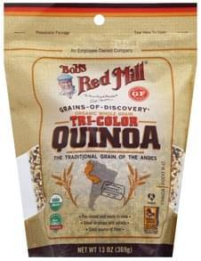 Bobs Red Mill Quinoa Tri-Color, Organic, Whole Grain