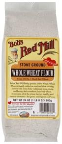 Bobs Red Mill Whole Wheat Flour Stone Ground
