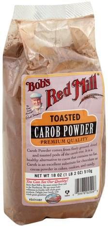 Bobs Red Mill Toasted, Premium Quality Carob Powder - 18 oz