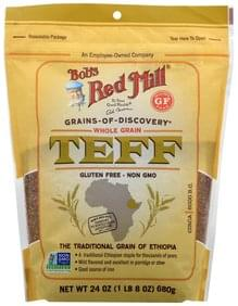 Bobs Red Mill Teff Whole Grain