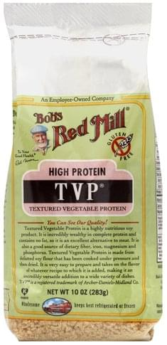 Bobs Red Mill Textured Vegetable Protein (TVP) Textured Vegetable Protein - 10 oz