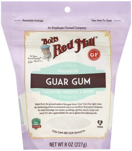 Bobs Red Mill Premium Guar Gum - 8 oz