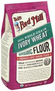 Bobs Red Mill Flour Organic, Ivory Wheat