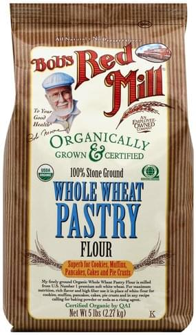 Bobs Red Mill Whole Wheat Pastry Flour - 5 lb