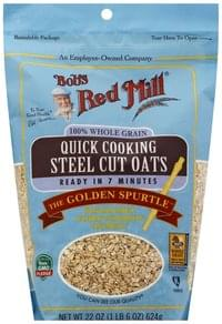 Bobs Red Mill Steel Cut Oats Quick Cooking