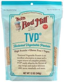 Bobs Red Mill Textured Vegetable Protein