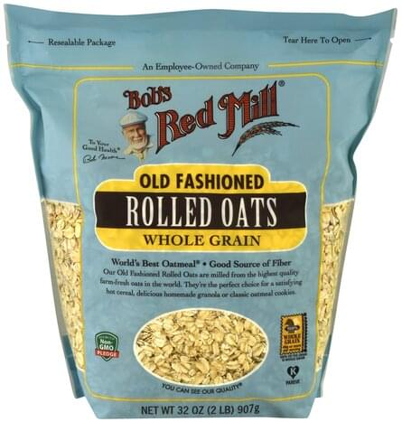 Bobs Red Mill Old Fashioned, Whole Grain Rolled Oats - 32 oz