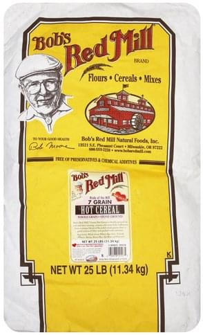 Bobs Red Mill 7 Grain Hot Cereal - 25 lb