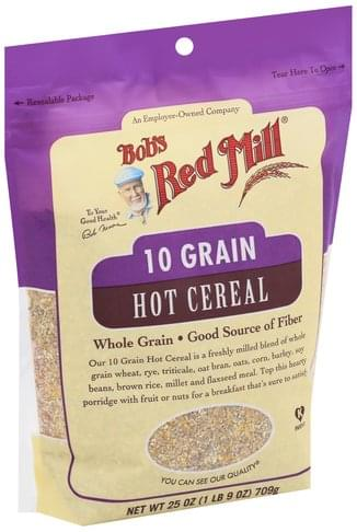 Bobs Red Mill 10 Grain Hot Cereal - 25 oz