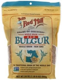 Bobs Red Mill Bulgur Whole Grain, Red