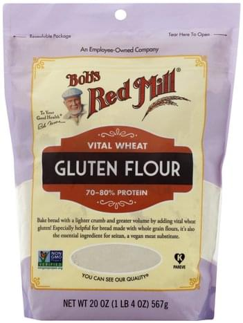 Bobs Red Mill Vital Wheat Gluten Flour - 20 ea