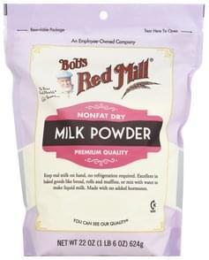 Bobs Red Mill Milk Powder Nonfat Dry