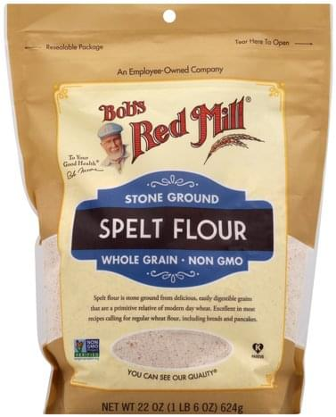 Bobs Red Mill Stone Ground Spelt Flour - 22 oz