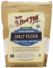 Bobs Red Mill Spelt Flour Organic, Stone Ground