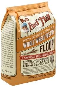 Bobs Red Mill Flour Whole Wheat, 100% Stone Ground